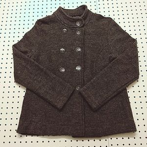 Linda Matthews Wool Jacket, Size Large